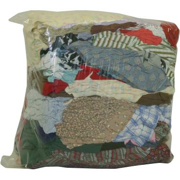 Kattun Putzlappen aus gewebter Ware, bunt