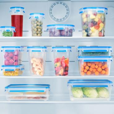 EMSA Clip & Close Frischhaltedosen 3-teiliges Set Set besteht aus: 3 x 1000 ml - Dosen