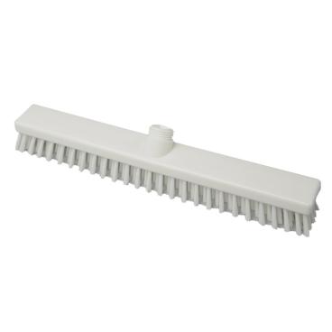 Hygiene-Schrubber, 400 x 50 mm Besatzfarbe/-höhe: weiß, 30 mm
