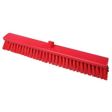 Hygiene-Großraumbesen, 600 x 60 mm Besatzfarbe/-höhe: rot, 65 mm