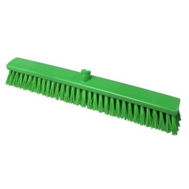 Hygiene-Großraumbesen, 600 x 60 mm Besatzfarbe/-höhe: grün, 65 mm