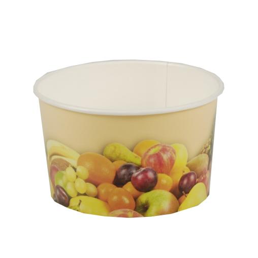 Papstar Früchte-Druck Eisbecher