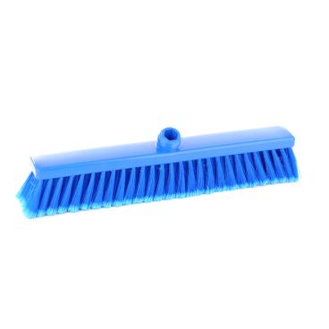 Hygiene-Großraumbesen, 600 x 60 mm Besatzfarbe/-höhe: blau, 65 mm