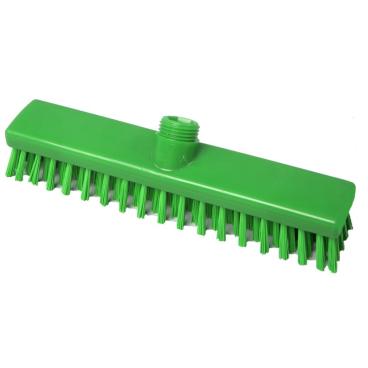Hygiene-Schrubber, 280 x 50 mm Besatzfarbe/-höhe: grün, 30 mm