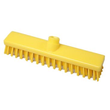 Hygiene-Schrubber, 280 x 50 mm Besatzfarbe/-höhe: gelb, 30 mm