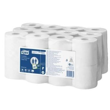 Tork Kleinrollen Toilettenpapier T4 Advanced, 2-lagig, weiß