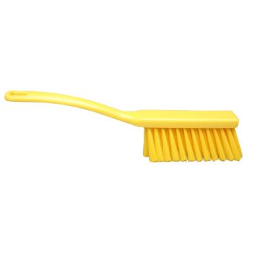 Hygiene-Handfeger, 340 x 35 mm Besatzhöhe/-farbe: gelb, 50 mm