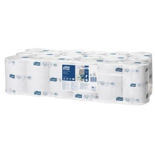 Tork Midi Toilettenpapier T7 Premium, 2-lagig, weiß