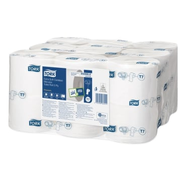Tork Midi Toilettenpapier T7 Premium, 3-lagig, weiß