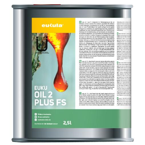 eukula® euku Öl 2 plus FS Hartwachsöl