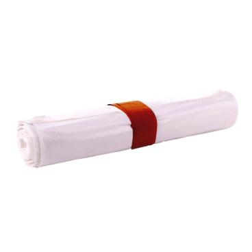 Ulith Müllsäcke 70 Liter, weiß, Typ 60 1 Karton = 10 Rollen à 25 Stück