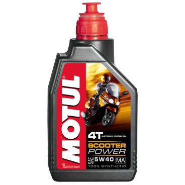 Motul Scooter Power 4T 5W40 MA Motorenöl