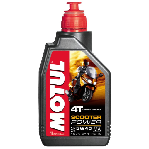 Motul Scooter Power 4T 5W40 MA Motorenöl