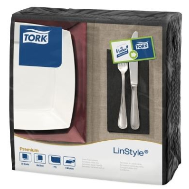 Tork LinStyle ® Dinnerservietten, 40 x 39 cm