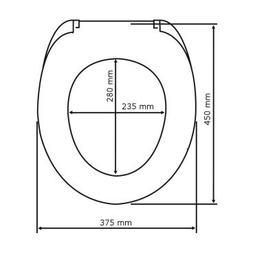 WENKO Savio WC-Sitz, mit Absenkautomatik Farbe: weiß, bruchsicher und strapazierfähig