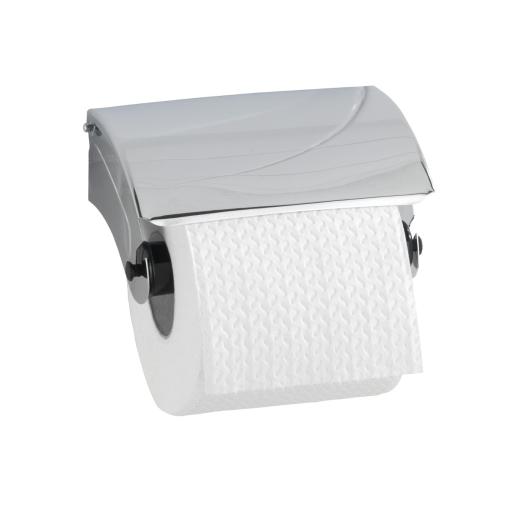 WENKO Basic Toilettenpapierrollenhalter