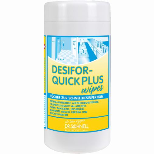 Dr. Schnell DESIFOR-QUICK PLUS WIPES Schnelldesinfektionstücher
