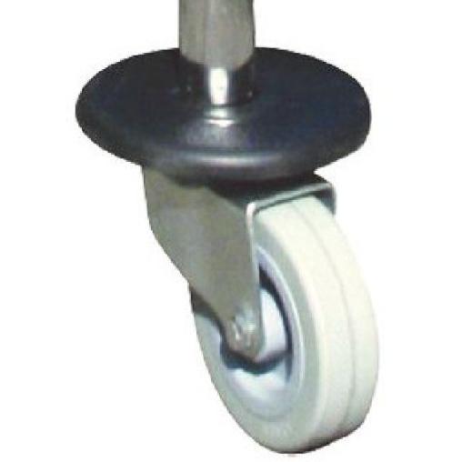 SPRINTUS Metall - Lenkrolle mit Stoßfangscheibe