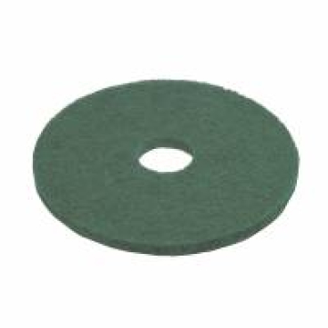 Vileda Professional DynaCross Superpads, Ø 330 mm 1 Packung = 5 Stück, grün, 20 mm dick