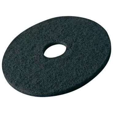 Vileda Professional DynaCross Superpads, Ø 380 mm 1 Packung = 5 Stück, schwarz, 20 mm dick