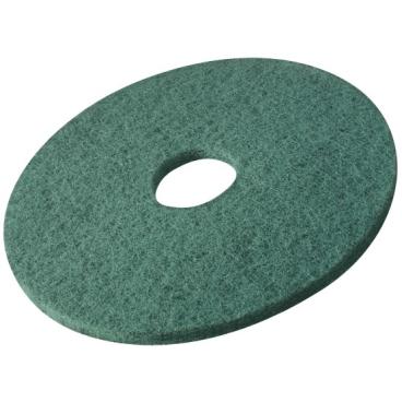 Vileda Dyna Cross Superpads, 20 mm dick Ø 380 mm, grün