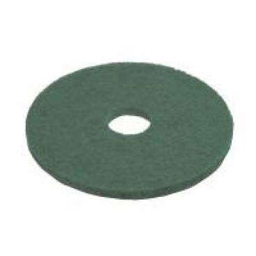 Vileda Professional DynaCross Superpads, Ø 430 mm 1 Packung = 5 Stück, grün, 20 mm dick