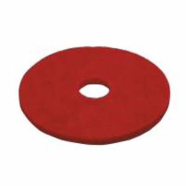 Vileda Dyna Cross Superpads, 20 mm dick Ø 430 mm, rot