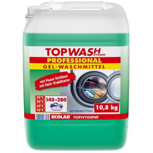 ECOLAB Topwash Professional Gelwaschmittel