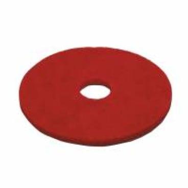 Vileda Professional DynaCross Superpads, Ø 500 mm 1 Packung = 5 Stück, rot, 20 mm dick