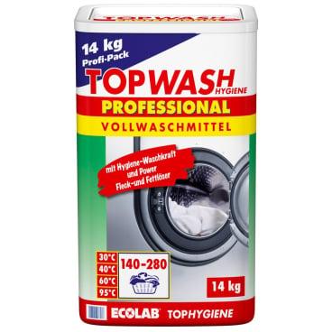 ECOLAB Topwash Professional Vollwaschmittel 14 kg - Trommel, 140 Waschgänge