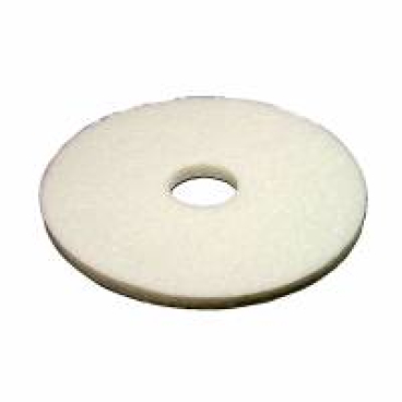 Vileda Dyna Cross Superpads, 20 mm dick Ø 500 mm, weiß