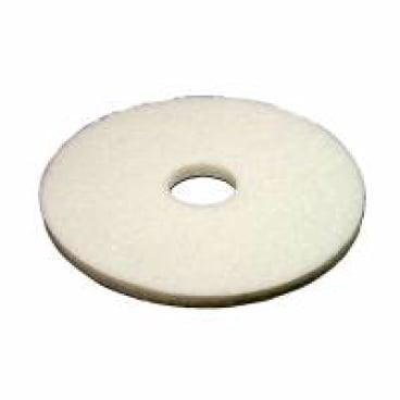 Vileda Professional DynaCross Superpads, Ø 500 mm 1 Packung = 5 Stück, weiß, 20 mm dick