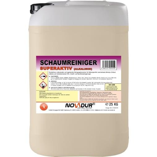 NOVADUR Schaumreiniger Superaktiv Alkalisch
