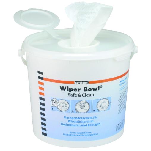 Multitex® Wipes Rolle Premium 100% PET & Spendereimer