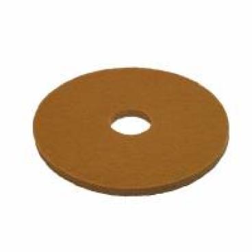 Vileda Professional DynaCross Superpads, Ø 430 mm 1 Packung = 5 Stück, beige, 20 mm dick