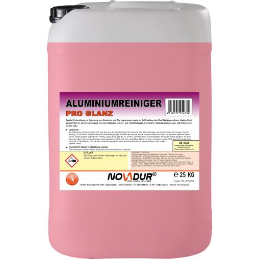 NOVADUR Aluminiumreiniger Pro Glanz