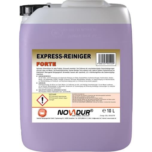 NOVADUR Express-Reiniger FORTE Universalreiniger