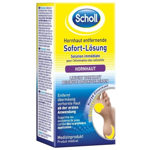 Scholl Hornhaut entfernende Sofort-Lösung