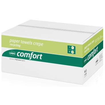 Wepa Comfort Krepp-Format-Handtuchpapier, 1-lagig