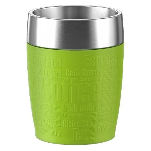 EMSA Travel Cup Thermobecher mit Dreh-Trinkverschluss