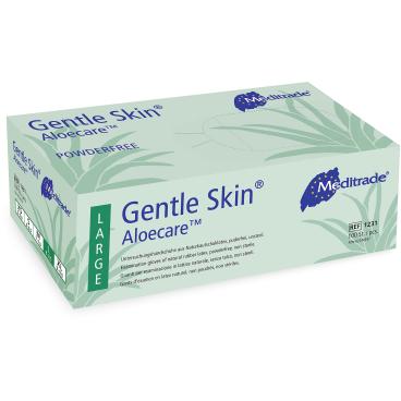 Meditrade Gentle Skin® Aloecare™ Latex Untersuchungshandschuh
