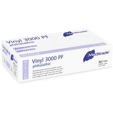 Meditrade® Vinyl 3000 PF Untersuchungshandschuh