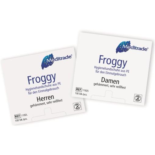 Meditrade® Froggy PE-Hygienehandschuh