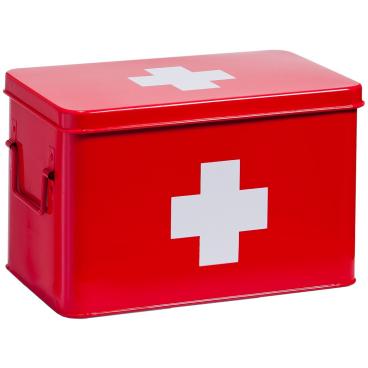 Zeller Metall Medizin-Box
