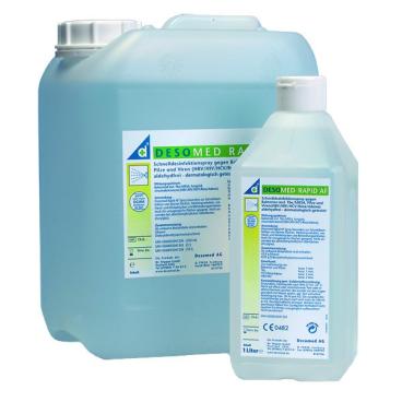DESOMED Rapid AF Alkoholische Schnelldesinfektion 100 ml - Flasche
