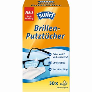 Swirl® Brillen-Putztücher