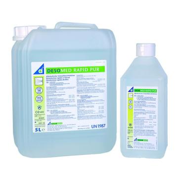 DESOMED Rapid Pur Alkoholische Schnelldesinfektion 5 - Liter Kanister