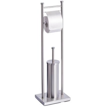 Zeller Edelstahl WC-Garnitur
