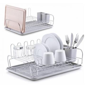 Zeller Kunststoff / Metall Geschirrabtropfständer