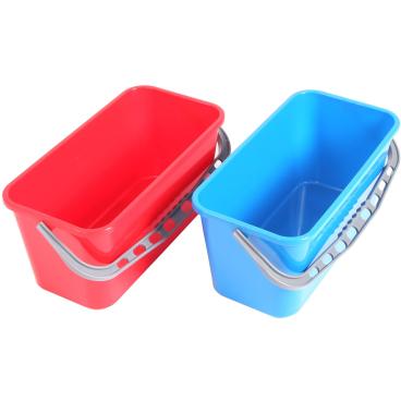 Floorstar Kunststoffeimer 14 l, stabil, E 14 Farbe: blau